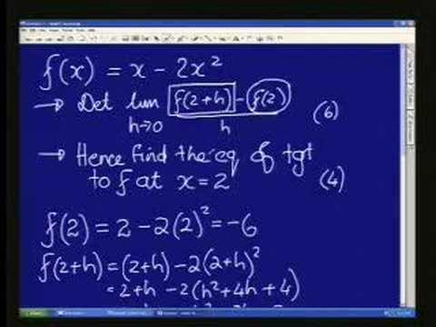 Title: Maths 911 - Grade 12: Algebra -- Calculus(2)