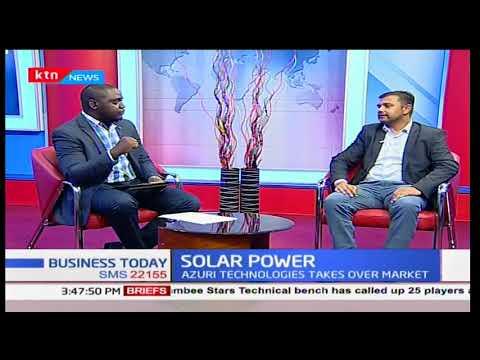 Solar Power: Azuri technologies takes over market