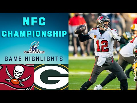 Buccaneers vs. Packers NFC Championship Game Highlights | NFL 2020 Playoffs