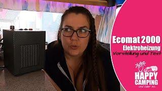 Ecomat 2000 - kleine Heizung, große Wärme | Happy Camping