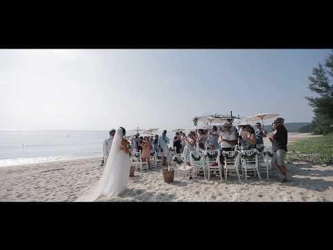 Viktoriya & Clifford 9th March 2017 - Stunning Beach Wedding and Villa Reception
