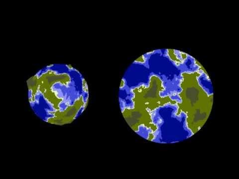 Unity 2D Planets generation - смотреть онлайн на Hah Life