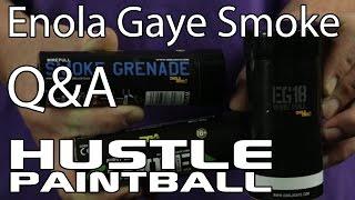 Enola Gaye Smoke Q&A by Hustle Paintball