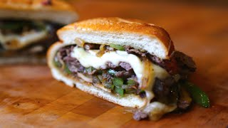 Best Leftover Philly Cheese Steak Slider | SAM THE COOKING GUY