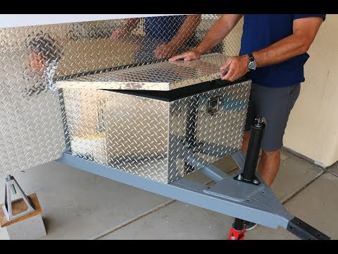 DIY Battery Tool Box Build - Travel Trailer Project