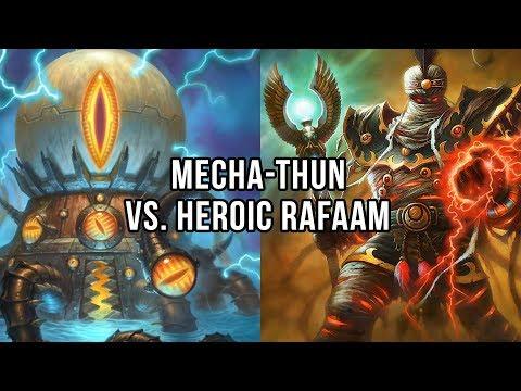 Mecha'thun vs Heroic Rafaam