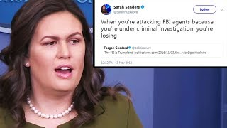 OOPS! Sarah Huckabee Sanders Tweet Embarrasses Trump