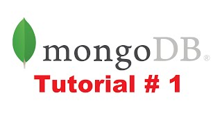 MongoDB Tutorial for Beginners 1 - Introduction to MongoDB + Installing MongoDB
