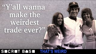 The weirdest trade in MLB history was when two pitchers got swapped ... by their wives thumbnail