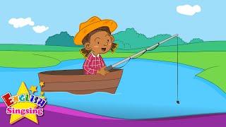 Bạn đã làm gì? Tôi đã đi câu cá! (Past căng thẳng) - Rap for Kids