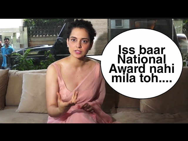Kangana Ranaut DEMANDS National Award For Manikarnika The Queen of Jhansi