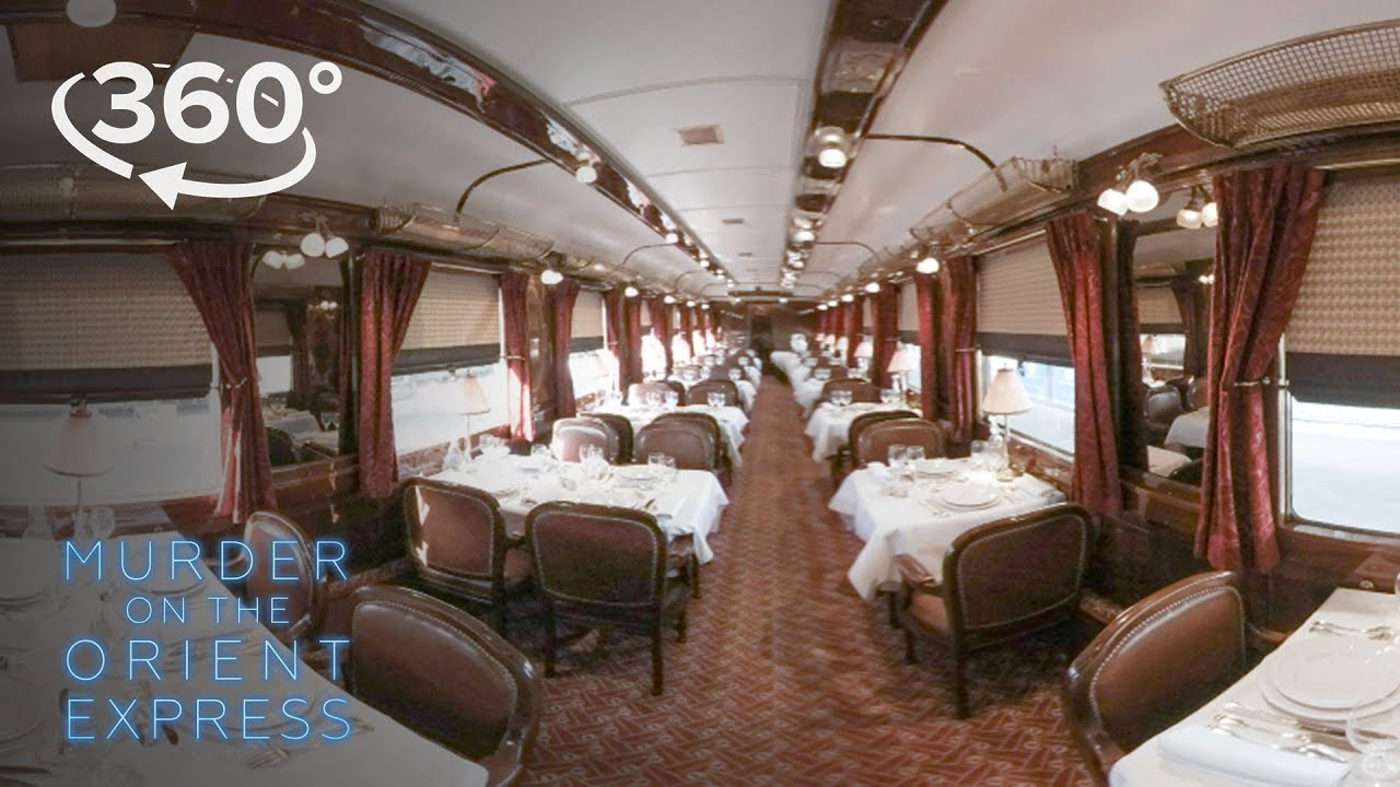 Go Inside The Orient Express In 360°