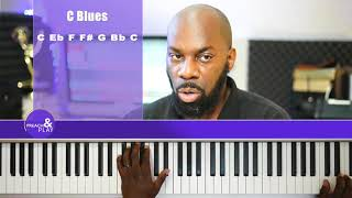 C Minor Blues Scale