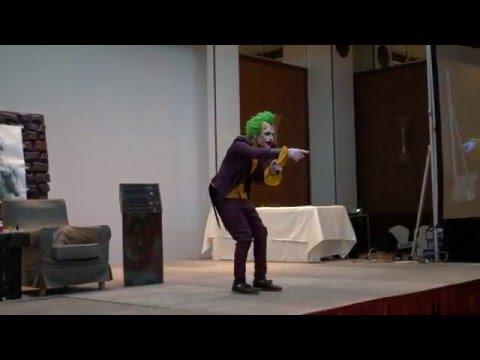 [GX 2016] The Joker (Arkham City) Cosplay Skit