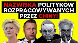 """IPP. SĄ NAZWISKA polskich polityków rozpracowywanych przez komunistyczne CHINY! [""""GP""""] IPP 2020.10.28"""