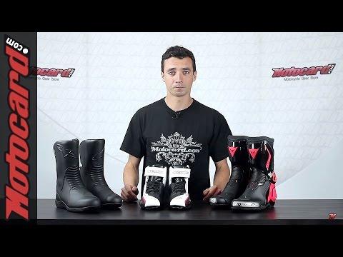 Tutorial Solo Moto: escoger las botas adecuadas