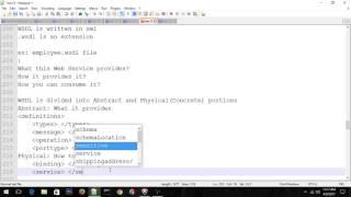 Oracle SOA WebService Basics