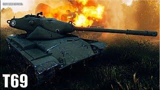 T69 wot как играть со СТОК ЭКИПАЖЕМ 🌟 World of Tanks лучший бой на ст 8 уровня т 69