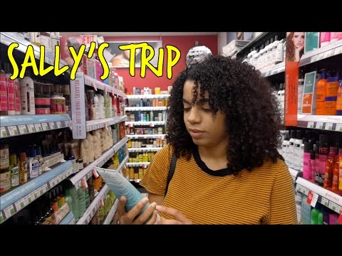 Sally's Beauty Supply : Follow Me To Buy Hair Products | Natural Curly Hair Mp3