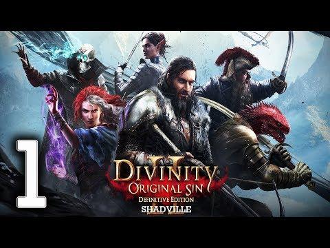 Divinity: Original Sin 2 - Definitive Edition Прохождение игры #1: Ифан бен Мезд. Начало
