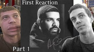 First Reaction To Drake - Scorpion! (Disk 1 Review, Rant, and Score)