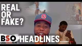 Real or Fake Black Sports Online Headlines with Robert Littal
