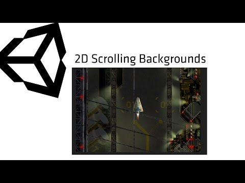 2d scrolling backgrounds unity
