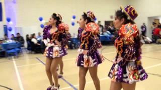 Caporales Universitarios San Simon Virginia - Fiesta De Aniversario De Tiataco En Virginia USA