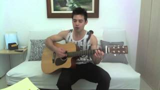R. City - Locked Away Ft. Adam Levine acoustic cover (chords