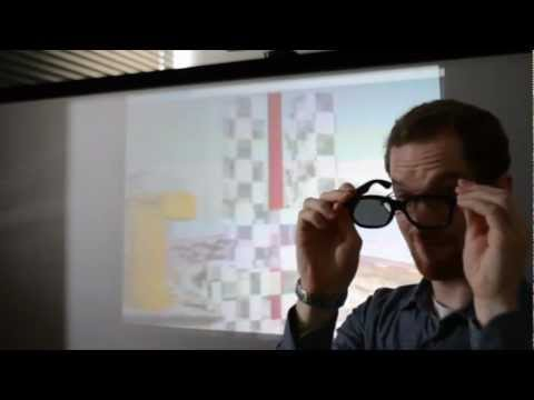 2x3D: Real time shader for simultaneous 2D/3D hybrid theater (teaser for SIGGRAPH ASIA 2012)