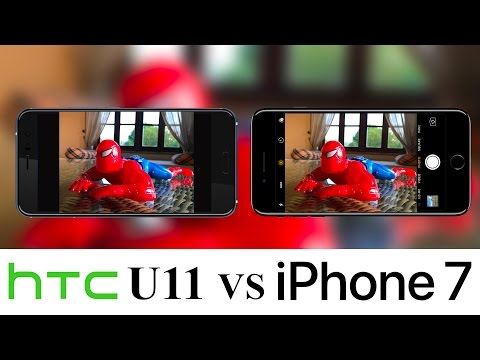 HTC U11 vs iPhone 7: camera test, ecco chi registra i migliori video