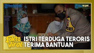 Jokowi Kirim Bantuan ke Istri Terduga Teroris yang Terlilit Utang, Diantar Staf Khusus