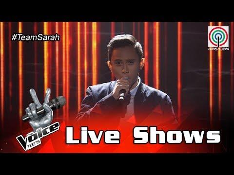 The Voice Teens Philippines Live Show: Ivan Navares -  Pagbigyang Muli