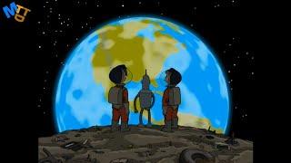 Астероид из Мусора  💙 Футурама HD #20 💙 Лучшие Моменты