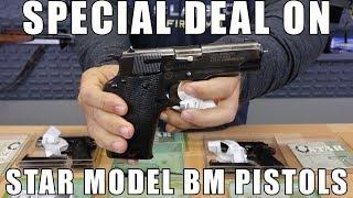 "Star Model BM SA 9mm Semi-Auto, 4"" barrel, 8 Rd Mag, Original Box - Surplus - Fair Surplus Condition"