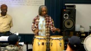 Bashiri Johnson at IAR