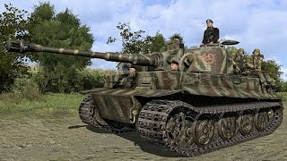 Реалистичный симулятор танкового боя на ПК!! Тигр H1 Немецкий танк второй мировой.