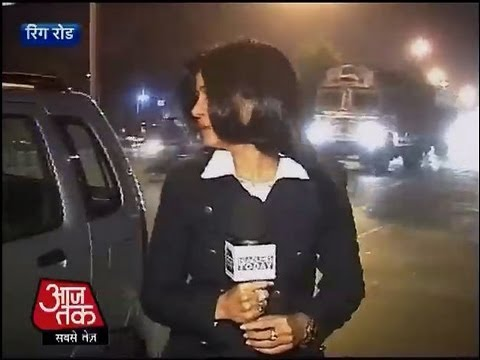 Aaj Tak reporter faces eve-teasing while reporting on Delhi gangrape case
