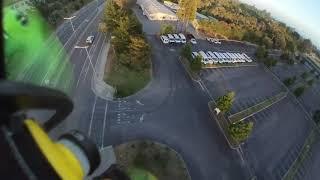 Sunset rip files! #FPV #Insta360Go #flowstate #fullspeedrc #fatshark #santacruz #drones #freestyle