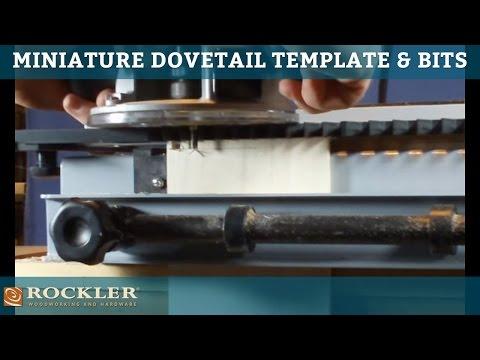 Mini Dovetail Template