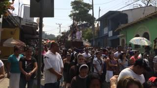 preview picture of video 'Vía Crucis de Viernes Santo, Ciudad de San Marcos 2014 (1)'