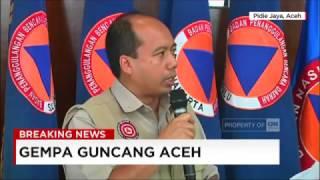 Kapusdatin & Humas BNPB Korban Meninggal Akibat Gempa Aceh Jadi 52 Orang
