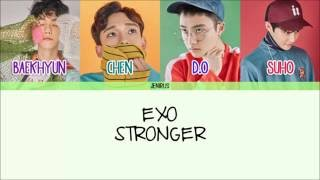 EXO - Stronger [Eng/Rom/Han] Picture + Color Coded Lyrics