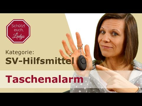 Unsere mobile Alarmanlage: Taschenalarm  Schlüsselalarm  Panikalarm  Schrillarlarm  Personenalarm