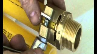 Теплоизолированные трубы AustroISOL 50 х 4.6/125 мм (Австрия) - видео 1