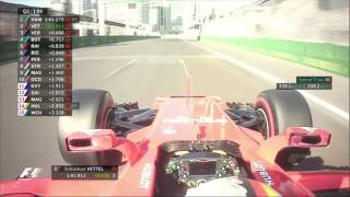2017 Azerbaijan Grand Prix | Qualifying Highlights