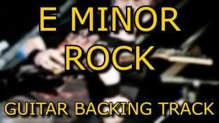 E MINOR ROCK / HEAVY METAL GUITAR BACKING TRACK