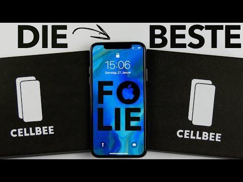 Die wirklich beste Schutzfolie fürs iPhone X - CellBee Displayschutz Antidust - Review + Anleitung