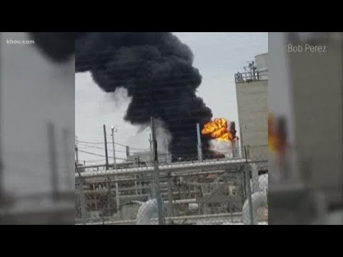 Neighbors react to fire at Baytown Exxon complex