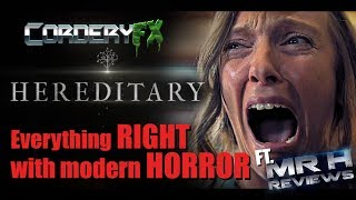 HEREDITARY - Everything RIGHT with modern HORROR Ft. Mr H Reviews